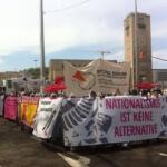 PM: Trotz massiver Polizeigewalt: Gegenproteste verzögern AfD-Bundesparteitag in Stuttgart