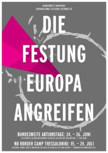 Festung Europa Angreifen Aktionstage NIKA