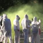 Plauen: Flashmob in Innenstadt