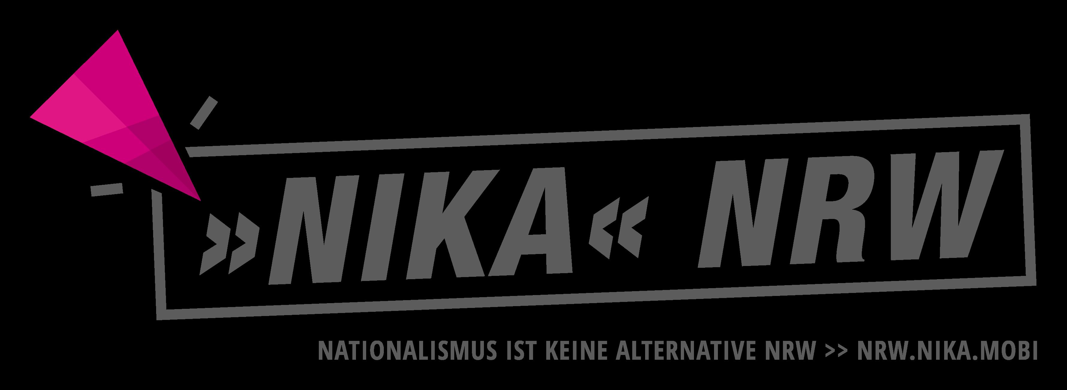 Nationalismus ist keine Alternative NRW Logo