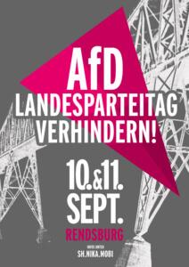 AfD-Landesparteitag in Rendsburg verhindern