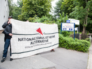 AfD-Stammtisch in Flensburg gestört