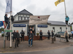 AfD Wahplarty in Flensburg verhindert!