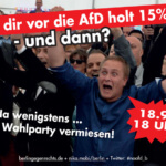 Wahlparty Crashen!