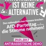 29. Januar: Dem Landesparteitag der AfD entgegentreten!