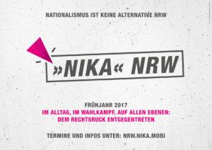 Plakat NIKA NRW Kampagne