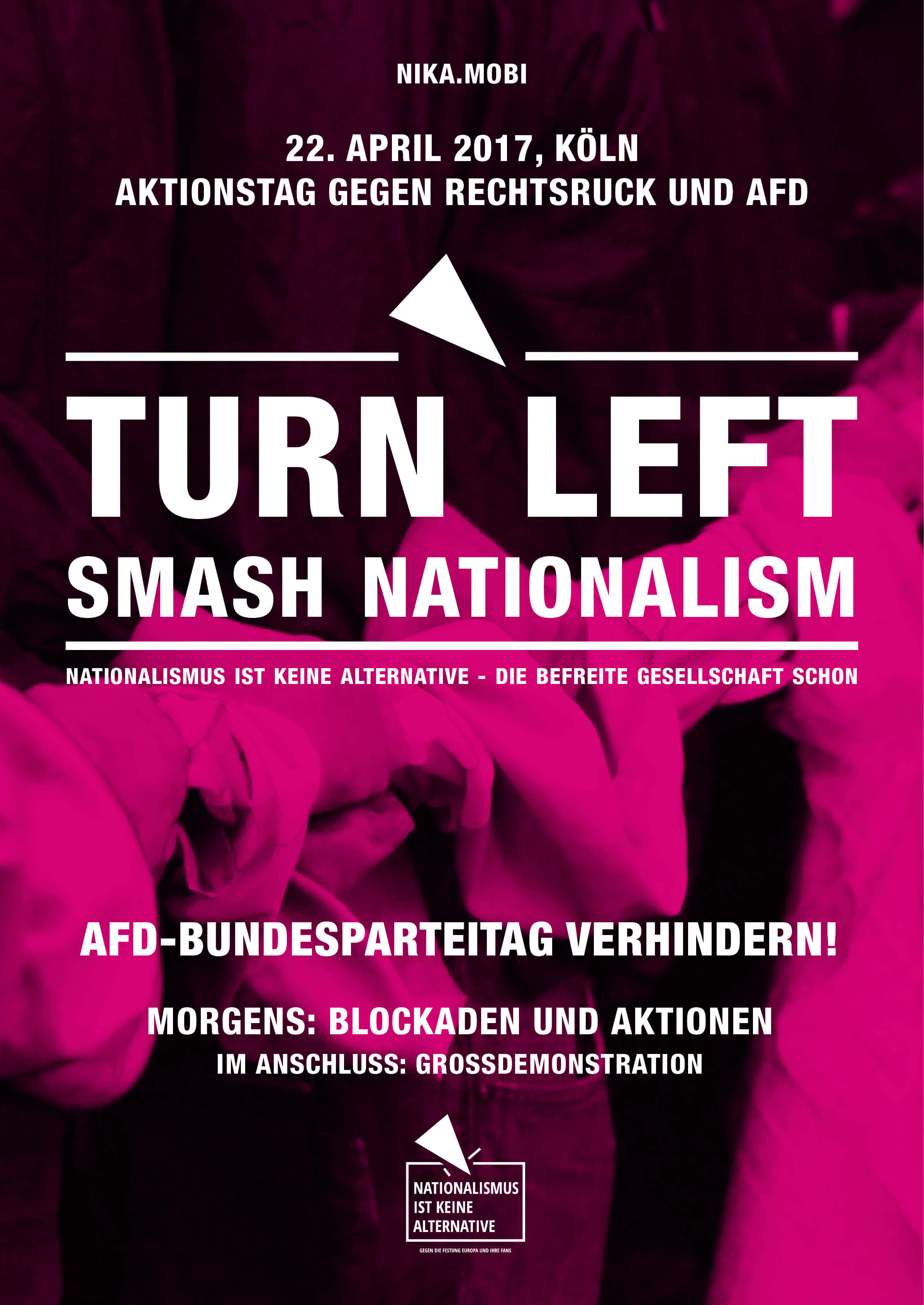 Nationalismus ist keine Alternative Plakat