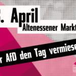 Essen am 08.04.: Der AfD den Tag vermiesen!