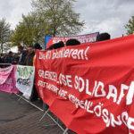 200 Antifaschist_innen gegen Alexander Gauland in Aukrug