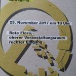 """[HAMBURG] 25.11. VA:  Noch blüht im Geist verborgen – Zur Ideologie, Organisation & Vernetzung der """"Identitären Bewegung"""""""