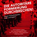Aufruf von NIKA NRW zur Großdemonstration gegen das neue Polizeigesetz