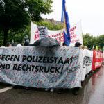 München: Antifaschistischer Block auf Riesendemo gegen CSU und Co.