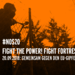 #NoS20 Fight the power! Fight Fortress Europe!