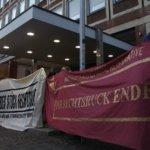 Proteste gegen AfD in Münster